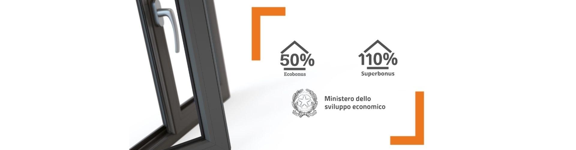 Ecobonus 50% sostituisci i tuoi infissi pagando la metà